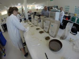 Soil Hydrophobicity Measurement and Microbial Community Diversity