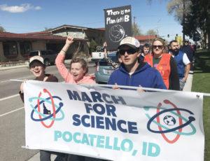 March for Science -- Pocatello